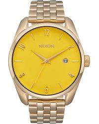 Nixon - Bullet Bracelet Watch - Lyst