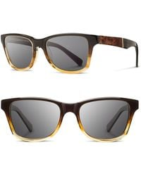 Shwood - 'canby' 54mm Acetate & Wood Sunglasses - - Lyst