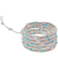 Nakamol - Stone & Metal Wrap Bracelet - Lyst