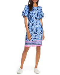 db15ccd5eb9 Lilly Pulitzer Lilly Pulitzer Gianna Tunic Dress in Pink - Lyst