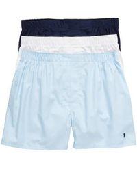 Polo Ralph Lauren - 3-pack Cotton Boxers - Lyst
