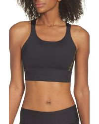 Under Armour - Breathelux Perforated Sports Bra - Lyst