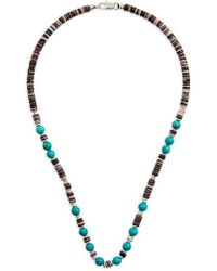 Link Up - Shell Bead Necklace - Lyst