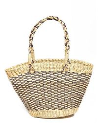 Amuse Society - Goodie Basket Straw Tote - Lyst