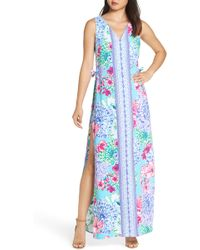 Lilly Pulitzer - Lilly Pulitzer Donna Maxi Romper - Lyst