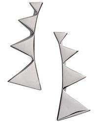 Nadri - Triangle Ear Crawlers - Lyst