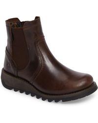 Fly London - Scon Waterproof Gore-tex Chelsea Boot - Lyst