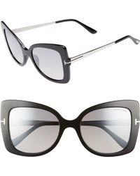 Tom Ford - Gianna 54mm Sunglasses - - Lyst