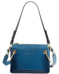 Chloé - Large Roy Leather Shoulder Bag - Lyst