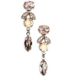Sorrelli - Sparkling Siren Crystal Earrings - Lyst