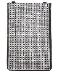Nina - Calgary Crystal Embellished Crossbody Smartphone Pouch - Lyst