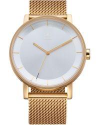 adidas - District Milanese Bracelet Watch - Lyst