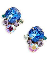 Sorrelli - Brugmansia Crystal Earrings - Lyst