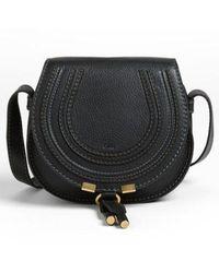 Chloé - 'mini Marcie' Leather Crossbody Bag - - Lyst