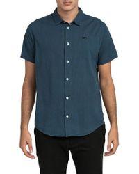 RVCA | No Name Woven Shirt | Lyst