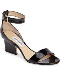 Jimmy Choo - Edina Ankle Strap Sandal - Lyst