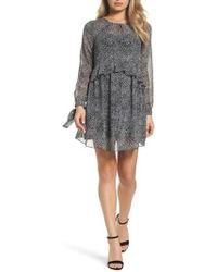 Sam Edelman | Ruffle Babydoll Dress | Lyst