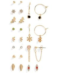 TOPSHOP - Supernatural 12-pack Earrings - Lyst