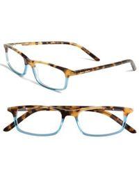 Kate Spade | Jodie 50mm Reading Glasses - Havana Teal | Lyst