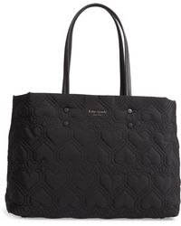Kate Spade - Large Jayne Quilted Nylon Tote - Lyst
