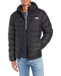 The North Face - Aconcagua Down Hooded Jacket - Lyst