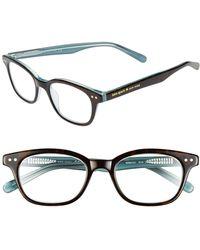 Kate Spade - Rebecca 49mm Reading Glasses - Lyst