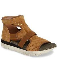 Otbt - Astro Perforated Gladiator Sandal - Lyst