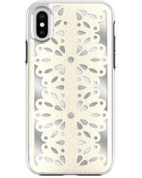Rebecca Minkoff - Luxury Calls Laser Lace Iphone X Case - - Lyst