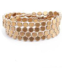 Serefina - Wrap Disk Bracelet - Lyst