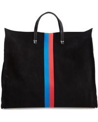 Clare V. - Simple Stripe Suede Tote - - Lyst