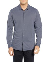 Robert Barakett - Colby Regular Fit Knit Sport Shirt - Lyst