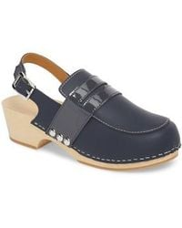 HUNTER - Refined Penny Loafer Clog - Lyst