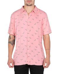 Barney Cools - Seagull Print Shirt - Lyst