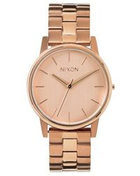 Nixon | 'the Small Kensington' Bracelet Watch | Lyst