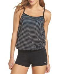 Nike - Layered Sport Tankini Top - Lyst