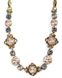 Sorrelli - Shielded Crystal Necklace - Lyst