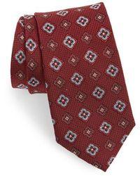 Nordstrom - Silk Medallion Tie - Lyst