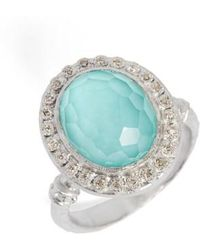 Armenta - New World Diamond & Turquoise Ring - Lyst