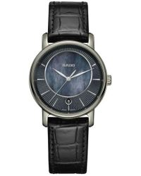 Rado - Diamaster Leather Strap Watch - Lyst