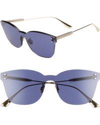Dior - Quake2 135mm Rimless Shield Sunglasses - - Lyst