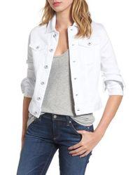 AG Jeans - 'robyn' Denim Jacket - Lyst