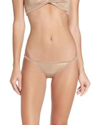 Urban Outfitters - Free People Intimately Fp Shine A Light String Bikini - Lyst