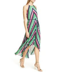 b0f4a2f505d5 Ted Baker - Shannah Striped Midi Dress - Lyst