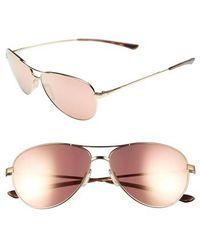 Smith - 'langley' 60mm Aviator Sunglasses - Lyst