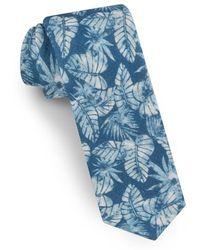 Ted Baker - Palm Leaf Silk Tie - Lyst