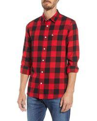 Jack Wills - Salcombe Buffalo Check Flannel Shirt - Lyst
