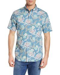 Reyn Spooner - Regular Fit Furoshiki Floral Sport Shirt - Lyst