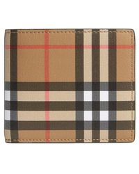 Burberry - Horseferry Leather Wallet - Lyst