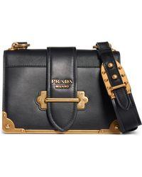81599c3417e1 Prada - Cahier Crossbody Bag - Lyst