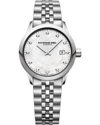 Raymond Weil - Freelancer Diamond Bracelet Watch - Lyst